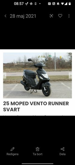 EU moped sökes